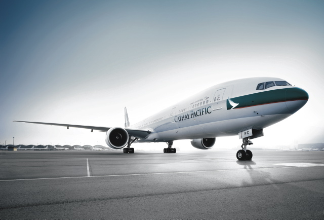 Cathay Pacific Airline Fluggesellschaft Flugzeug